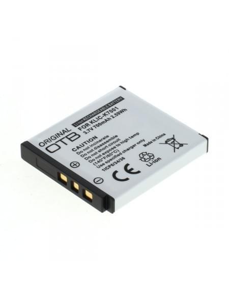 Akku, Ersatzakku ersetzt Kodak Klic-7001 Li-Ion