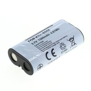 Ersatzakku ersetzt Kodak Klic-8000 Li-Ion