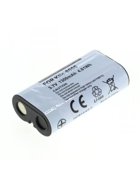 CE zertifiziert Akku, Ersatzakku ersetzt Kodak Klic-8000 Li-Ion