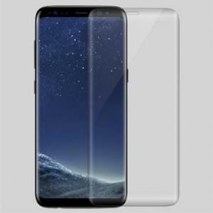 Glas Folie 3D curve Härtegrad 9H optimaler Displayschutz - von Rand zu Rand für Samsung Galaxy S8
