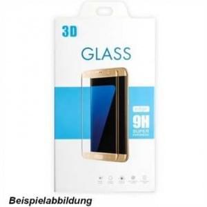 Glas Folie 3D curve, Härtegrad 9H, Displayschutz für Samsung Galaxy Note8 - gold