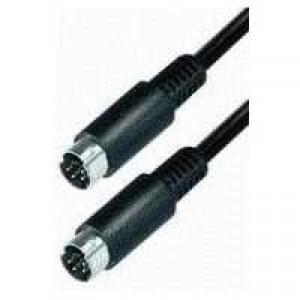 Video S-VHS Verbindungskabel - 4-pol.Mini DIN Stecker > 4-pol. Mini DIN Stecker - 10 m