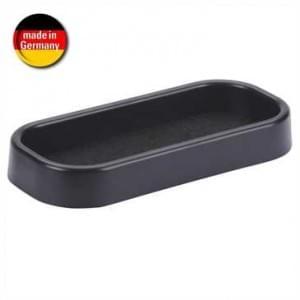 Auto Ablage Box Selbstklebend mit Filzboden - Größe: 26 x 180 x 83 mm - Schwarz