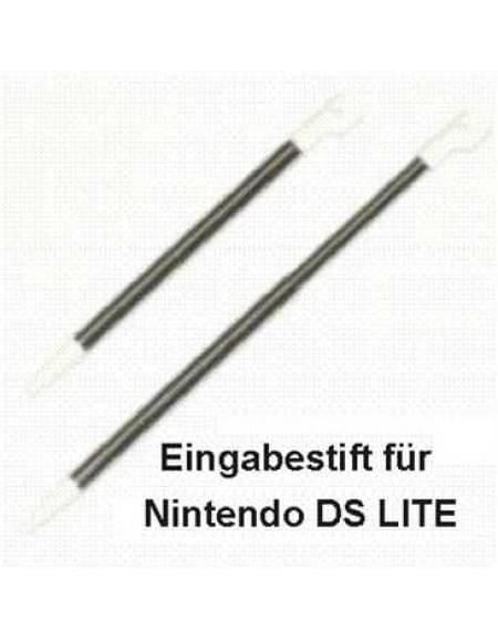 Stylus 2-in-1 Eingabestift (ausziehbar) für Nintendo DS Lite - weiß