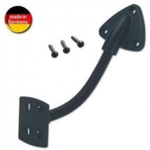 HR 1566/102 Console Flex Mount - Schwanenhals - Schraubbefestigung - Länge: 235 mm - Schwarz