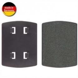 HR 1483 Adapterplatte - Adapter 4 Krallen (vorstehend) - selbstklebend mit Selbstklebefolie