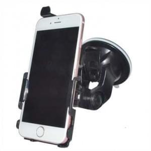 Haicom KFZ-Halterung mit 360° Rotation und Saugfuß für Apple iPhone 7 / 8 - Farbe: Schwarz