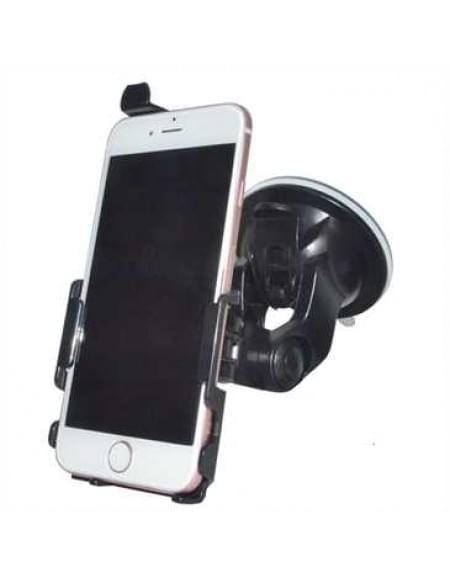 Haicom KFZ-Halterung mit 360° Rotation und Saugfuß für Apple iPhone 7 - Farbe: Schwarz