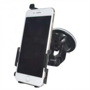 Haicom KFZ-Halterung mit 360° Rotation und Saugfuß für Apple iPhone 8 Plus / 7 Plus - Farbe: Schwarz