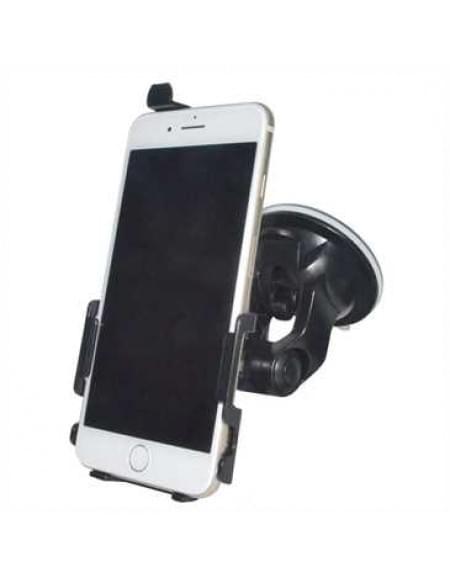 Haicom KFZ-Halterung mit 360° Rotation und Saugfuß für Apple iPhone 7 Plus - Farbe: Schwarz