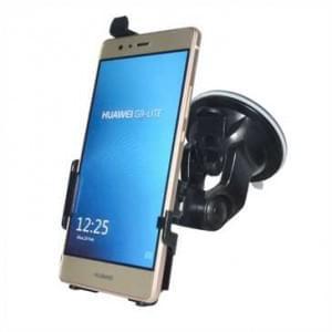Haicom Auto Halterung mit 360° Rotation und Saugfuß für Huawei P9 Lite - Farbe: Schwarz