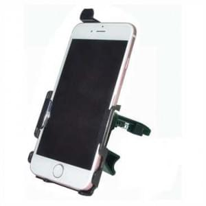 Haicom Fahrrad Motorrad Halter Halterung für Apple iPhone 7 / 8 Fahrradhalter - Schwarz