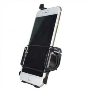 Haicom Fahrrad Motorrad Halter Halterung für Apple iPhone 8 Plus / 7 Plus / Fahrradhalter - Schwarz