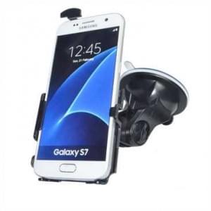 Haicom Auto Halterung mit 360° Rotation und Saugfuß für Samsung Galaxy S7 - Farbe: Schwarz