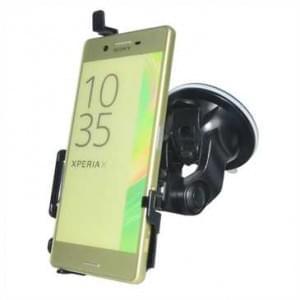 Haicom KFZ-Halterung mit 360° Rotation und Saugfuß für Sony Xperia X - Farbe: Schwarz