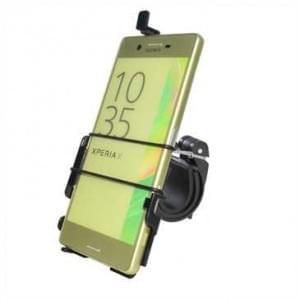 Haicom Fahrrad Motorrad Halter Halterung für Sony Xperia X / Fahrradhalter - Schwarz