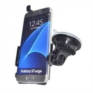 Haicom Auto Halterung mit 360° Rotation und Saugfuß für Samsung Galaxy S7 Edge - Farbe: Schwarz