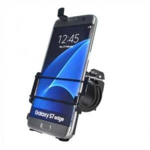 Haicom Fahrrad Motorrad Halter Halterung für Samsung Galaxy S7 Edge / Fahrradhalter - Schwarz