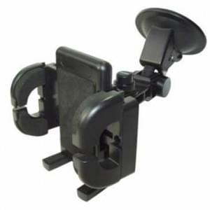 Haicom Auto Windschutzscheiben Halter für Smartphones mit Gerätebreite von 50 - 105 mm -schwarz