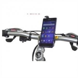 Haicom Universal Bike Fahrrad/ Motorrad Halterung mit Sicherungsband - Basis mit Klemmvorrichtung