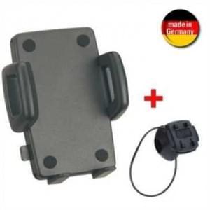 HR Bike Mount 7 Halter m. Schnellverschluss + Gripper für Geräte m. Breite 56-85mm + Tiefe bis 25mm