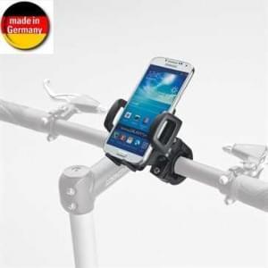 HR Universal Smartphone Motorrad und Fahrrad Halter Set für Gerätebreite von 40 bis 82 mm