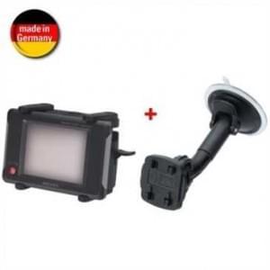 Auto Saugfußhalter Navi Halter Kit mit QuickFix für Gerätebreite von 85-170 mm + Höhe von 62-89 mm