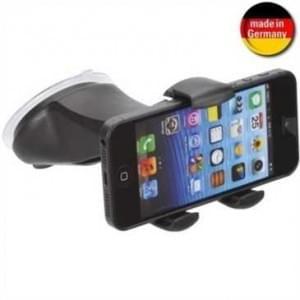 XiRRiX KFZ Windschutzscheibenhalter für Smartphone (Made in Germany) für Geräte von 58-84 mm Breite