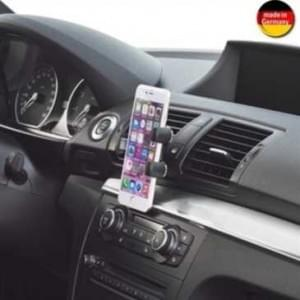 XiRRiX KFZ Lüftungsgitter Halter für Smartphone (Made in Germany) für Geräte von 64 - 92 mm Breite