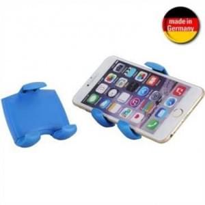 XiRRiX KFZ Lüftungsgitter Halter für Smartphone von 58-84 mm Breite (Made in Germany) - Blau
