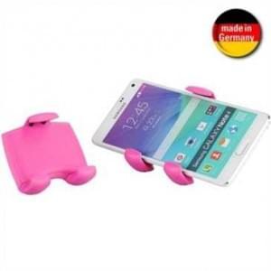 XiRRiX KFZ Lüftungsgitter Halter für Smartphone von 58-84 mm Breite (Made in Germany) - Rosa