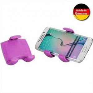 XiRRiX KFZ Lüftungsgitter Halter für Smartphone von 58-84 mm Breite (Made in Germany) - Lila