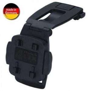 XiRRiX Gürtel / Rucksackclip für Smartphones mit Schnellverschluss - schwarz (Made in Germany)