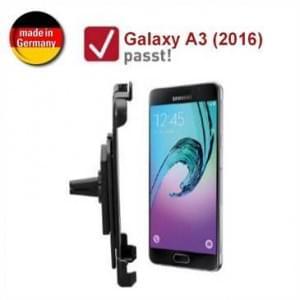 XiRRiX Auto KFZ Lüftungshalterung für Samsung Galaxy A3 (2016) - drehbar (Made in Germany)