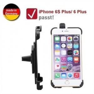 XiRRiX KFZ Lüftungshalterung für Apple iPhone 6 Plus / 6S Plus (passgenau, drehbar, Made in Germany)