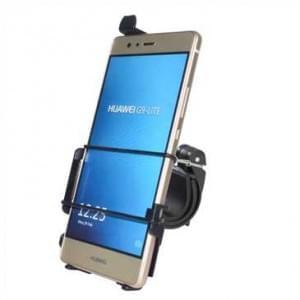 Haicom Fahrrad Motorrad Halter Halterung für Huawei P9 Lite / Fahrradhalter - Schwarz