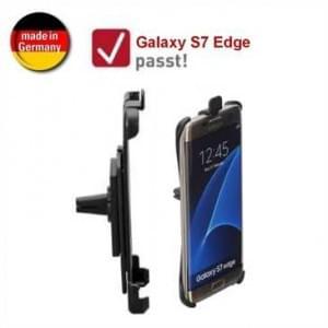 XiRRiX Auto KFZ Lüftungshalterung für Samsung Galaxy S7 Edge - drehbar (Made in Germany)