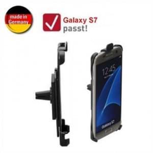 XiRRiX Auto KFZ Lüftungshalterung für Samsung Galaxy S7 - drehbar (Made in Germany)