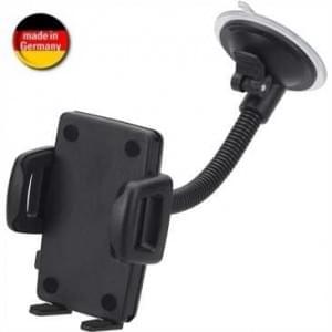 HR Auto Windschutzscheibenhalter für Smartphone (Made in Germany) für Geräte von 56-85 mm Breite