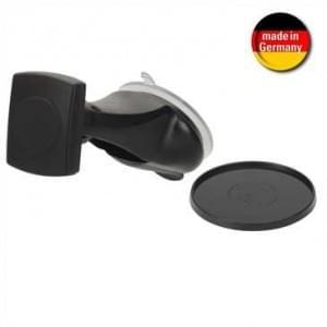 "HR Design Mount Kit - Auto Saughalter + Magnethalter ""Magnet-Tec"" - schwarz (Made in Germany)"