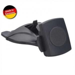 XiRRiX Magnetische Smartphonehalterung Set für CD-Schlitz - schwarz (Made in Germany)