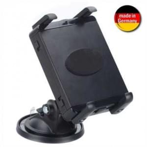 XiRRiX Tablet-PC Universal Halter mit Haftsauger - für Schreibtische - schwarz (Made in Germany)