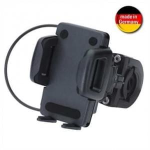 HR Universal Smartphone Motorrad/ Fahrrad Halter für Gerätebreite von 42-78 mm (Made in Germany)