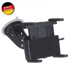 HR Auto Navigationsgerätehalterung mit Saugerbefestigung für Gerä Höhe von 62-89mm (Made in Germany)