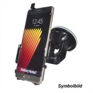 Haicom KFZ-Halterung mit 360° Rotation und Saugfuß für Samsung Galaxy J5 Prime - Farbe: Schwarz