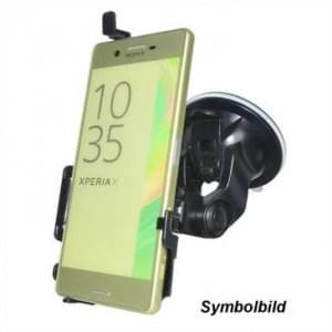 Haicom KFZ-Halterung mit 360° Rotation und Saugfuß für HTC Desire 10 Lifestyle - Farbe: Schwarz
