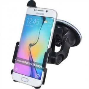 Haicom Auto Halterung mit 360° Rotation und Saugfuß für Samsung Galaxy S6 Edge - Farbe: Schwarz