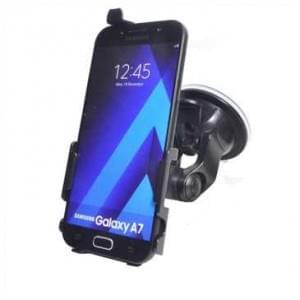 Haicom KFZ-Halterung mit 360° Rotation und Saugfuß für Samsung Galaxy A7 (2017) - schwarz