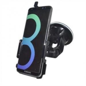 Haicom KFZ-Halterung mit 360° Rotation und Saugfuß für Samsung Galaxy S8 - schwarz