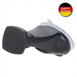 XiRRiX Magnetische  Smartphonehalterung für Windschutzscheibe - Ø 70 mm - schwarz (Made in Germany)